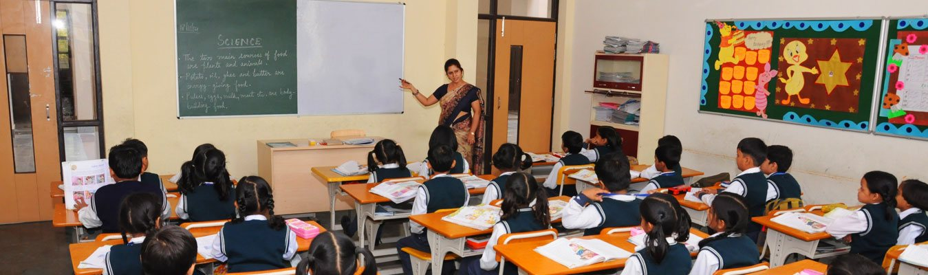 Escorts World School Classroom